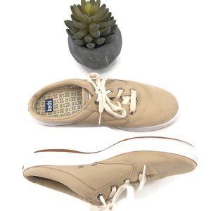 Keds Tan Kickstart Slip-On Mule Sneakers  Size 8